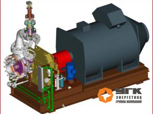 Паровая турбина малой мощности (TR-320, TR-560) от чешского производителя G-team